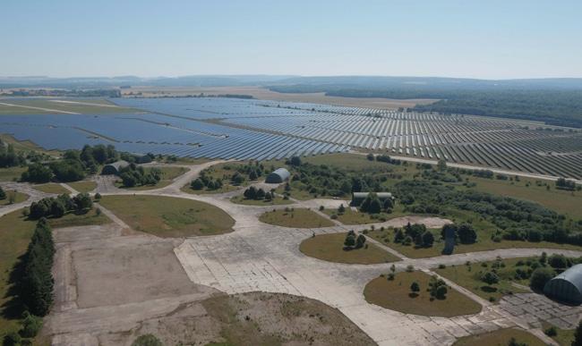La centrale photovoltaïque de Toul