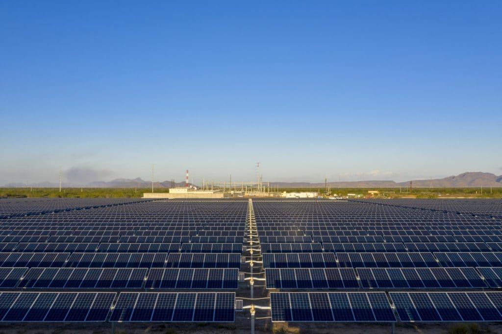 Centrale solaire de Bluemex 119,6 MWc