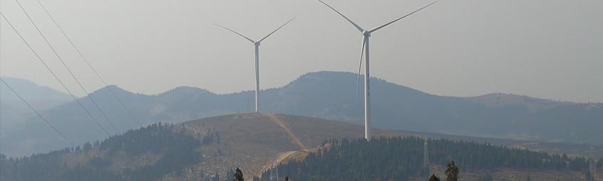 Photo du parc éolien de Feicheng Phase 1 (49,5 MW) – Chine (Zhejiang)