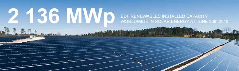 2136 MW solar installed capacity in the world